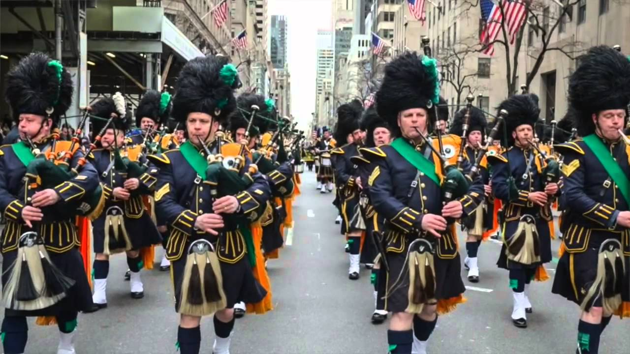 Parade Saint Patrick New York